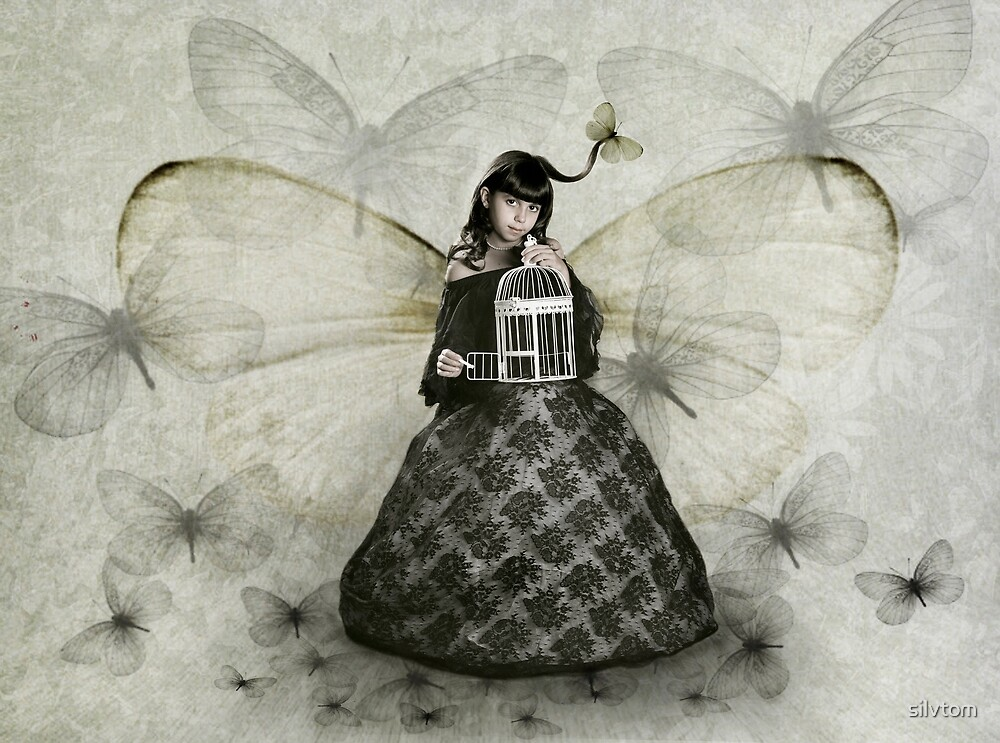 Butterfly Spirited by Silvia Tomarchio