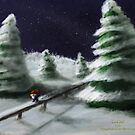 Tomte & Friends Winter Night by vikingsbooksetc