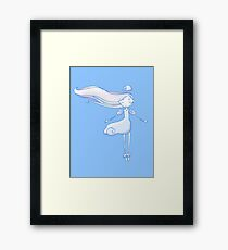 Cloud Princess Framed Print