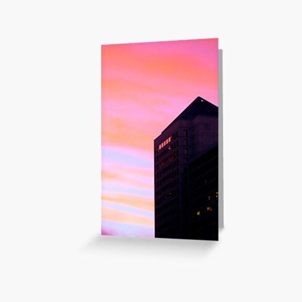 window into nightlight Greeting Card
