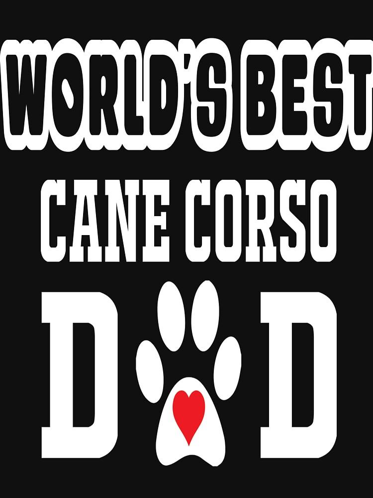 World's Best Cane Carso Dad Dog Lover by matt76c