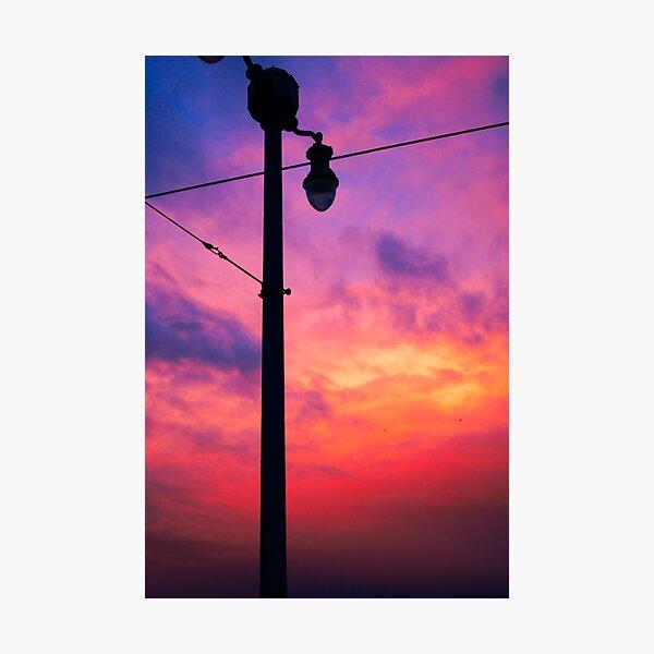 nightly lit Photographic Print