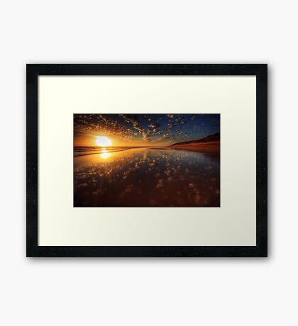 Wet Sand #2 Framed Print