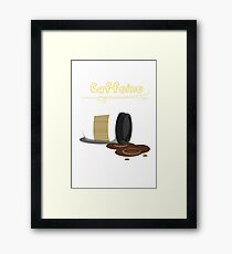 Caffeine  Framed Print