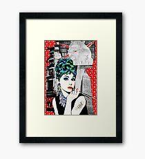 Audrey Punked  Framed Print