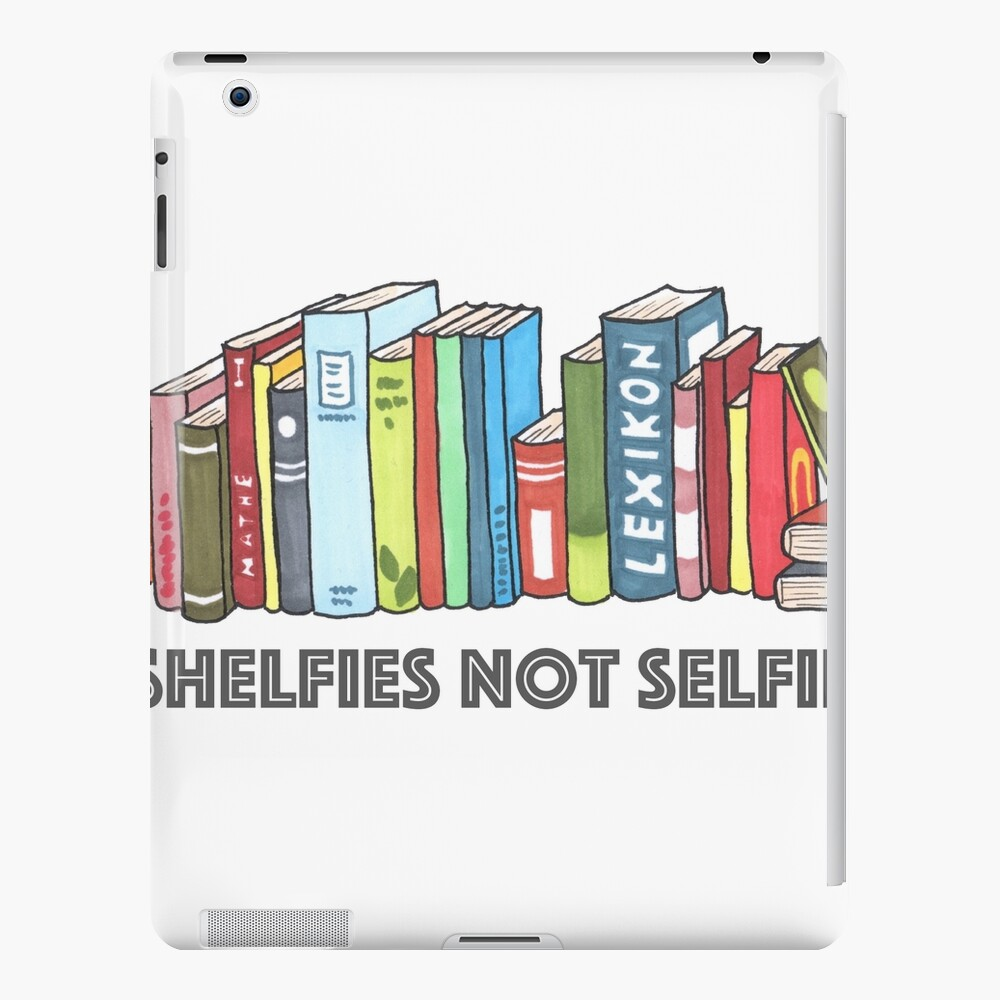 Shelfies No Selfies Funda y vinilo para iPad