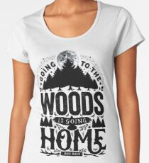 The Woods Women's Premium T-Shirt