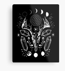 Crystal Moon. Metal Print