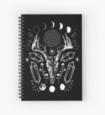 Crystal Moon. Spiral Notebook