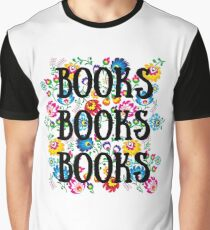 Blooming Books Graphic T-Shirt