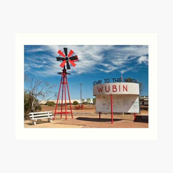 Wubin - Western Australia Art Print