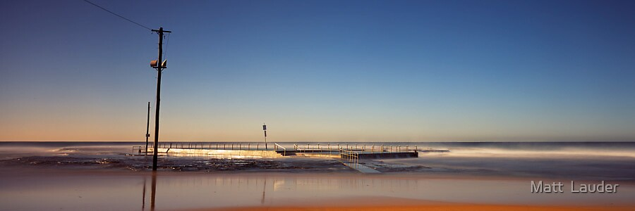 Mona Vale Baths, Sydney by Matt  Lauder