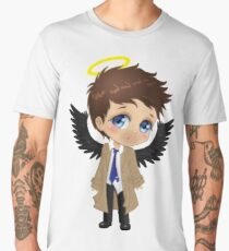 Supernatural Castiel Chibi Men's Premium T-Shirt