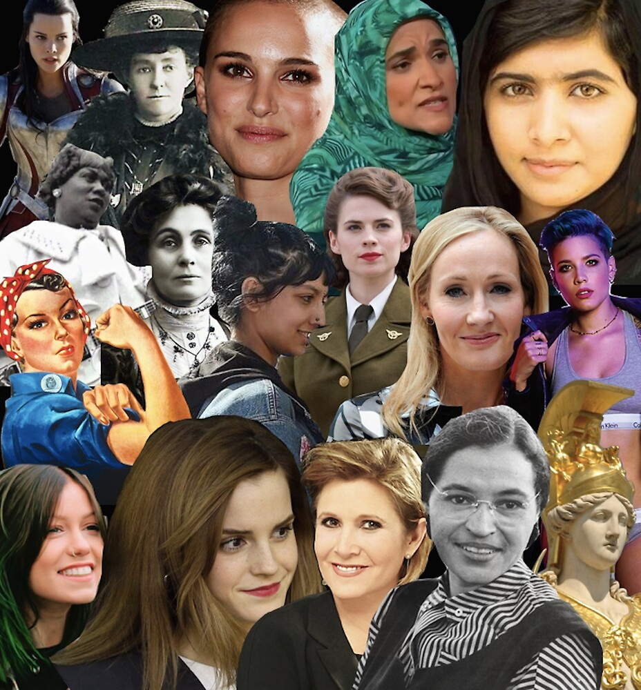 Badass Women Throughout History  by allthecollages