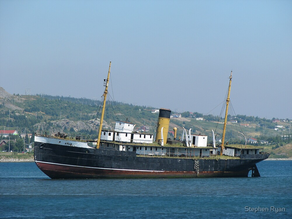 S.S. Kyle in Harbour Grace by Stephen Ryan