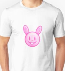 Pink Easter Bunny Illustration T-Shirt