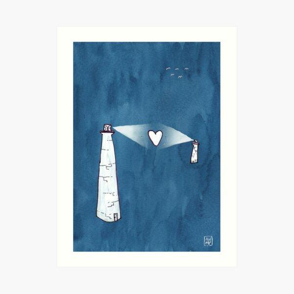 Long-Distance Love Art Print