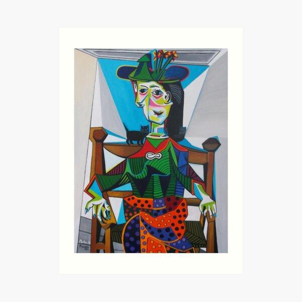 Picasso, Dora Maar Art Print