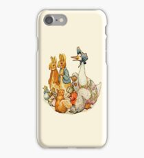 Children's Story Book Animals iPhone Case/Skin