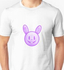 Purple Easter Bunny Illustration T-Shirt