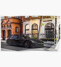 Mercedes-Benz SLS AMG Black Series  Poster