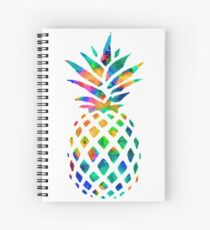 Rainbow Pineapple Spiral Notebook