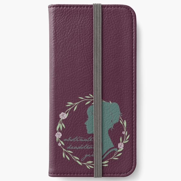 Obstinate Headstrong Girl iPhone Wallet