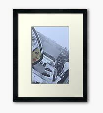 THE LOOKER Framed Print