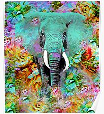 ELEPHANT MAGNIFICENT Poster