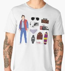 Back to the Future : Time Traveler Essentials 1985 Men's Premium T-Shirt