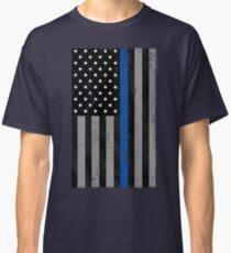 Thin Blue Line Flag Classic T-Shirt