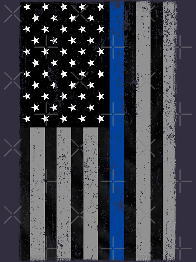 Thin Blue Line Flag by AmericanVenom