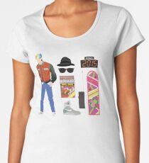 Back to the Future : Time Traveler Essentials 2015 Women's Premium T-Shirt