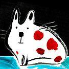 Flat Cat by Carla Martell