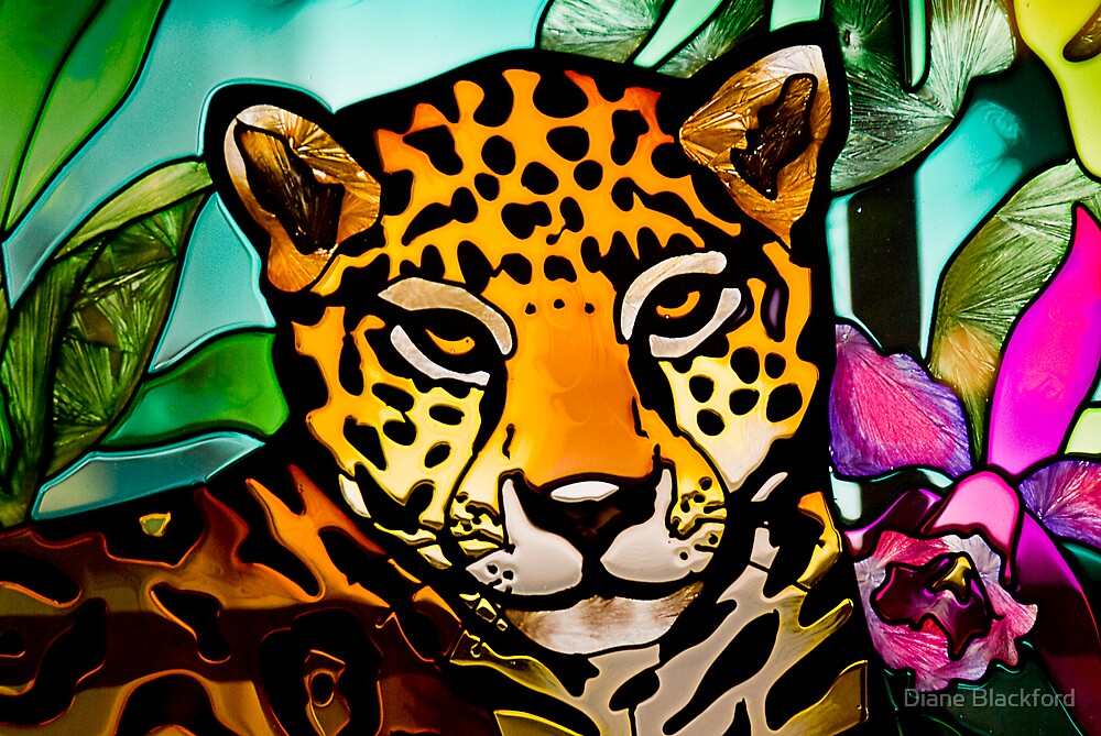 Leaded Leopard by Diane Blackford