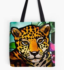 Leaded Leopard Tote Bag