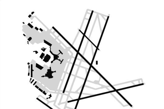 Boston Logan Flughafen Diagramm Leinwanddrucke Von Vidicious