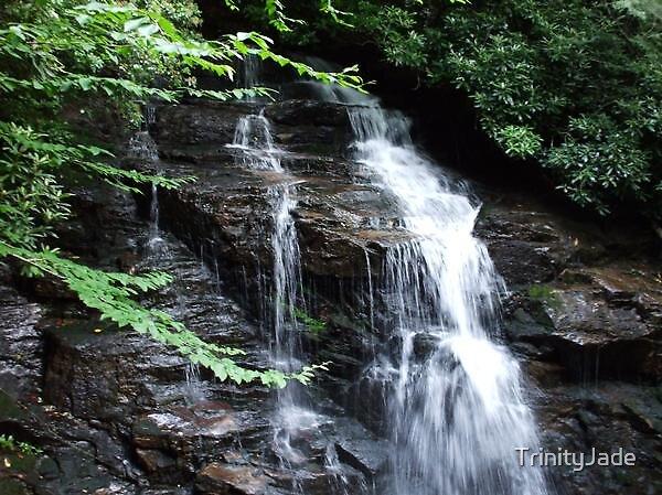 Blissful Water Fall by TrinityJade