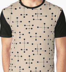 Midcentury Modern Dots 105 Graphic T-Shirt