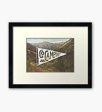 Go Camping Framed Print