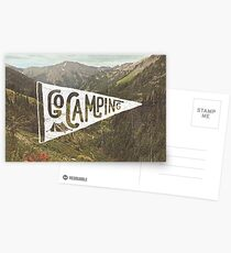 Go Camping Postcards