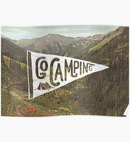 Go Camping Poster