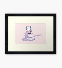 Love Cat Framed Print