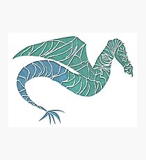 Mystical Flying Sea Dragon Photographic Print