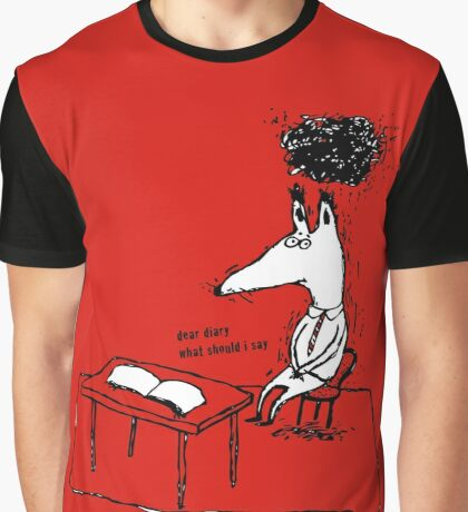 Dear Diary Graphic T-Shirt