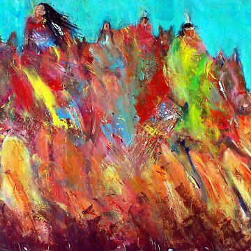 Spirit Riders by zeartiste