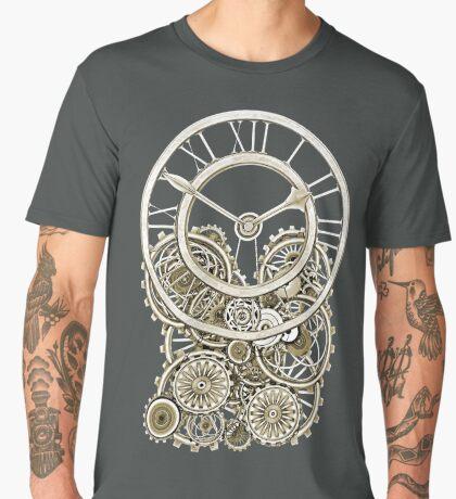 Stylish Vintage Steampunk Timepiece Vintage Style Steampunk T-Shirts Men's Premium T-Shirt