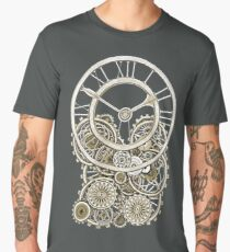 Stylish Vintage Steampunk Timepiece Vintage Style Men's Premium T-Shirt