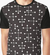 Midcentury Modern Dots 22 Graphic T-Shirt