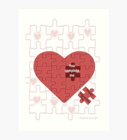 Valentine (228 views) Art Print